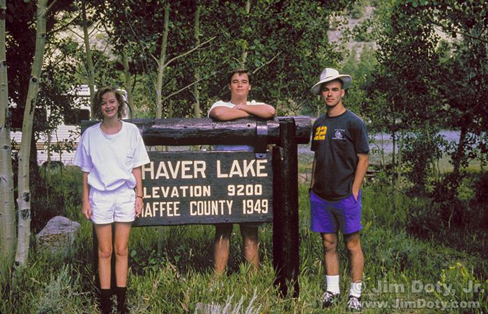Dotys, O'Haver Lake, Colorado