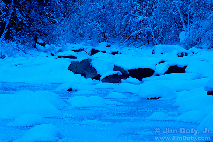 Snow Hummocks, Merced River