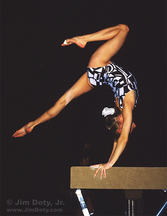 Shannon Miller on the Beam