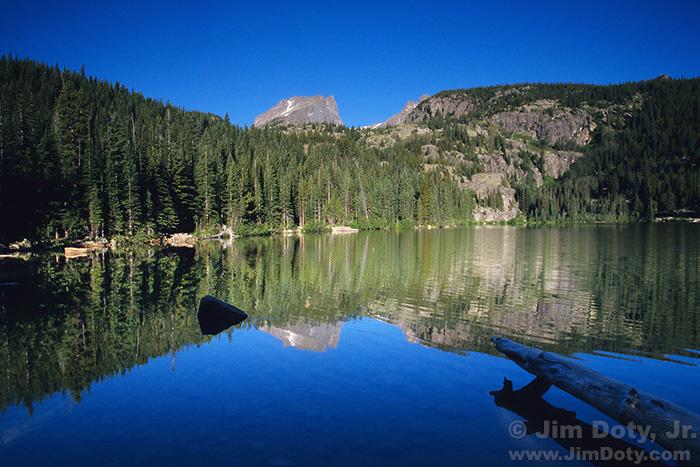 Bear Lake looking west at Hallet Peak
