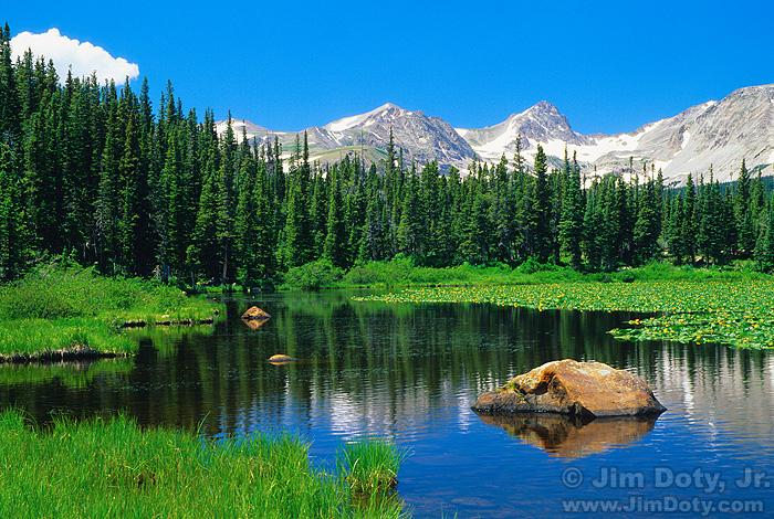 Red Rock Lake, Indian Peaks Wilderness, Colorado