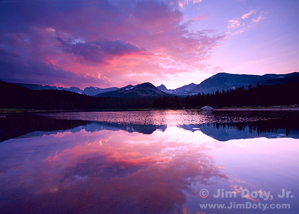 Brainard Lake, Indian Peaks Wilderness, Colorado. Photo copyright Jim Doty Jr,