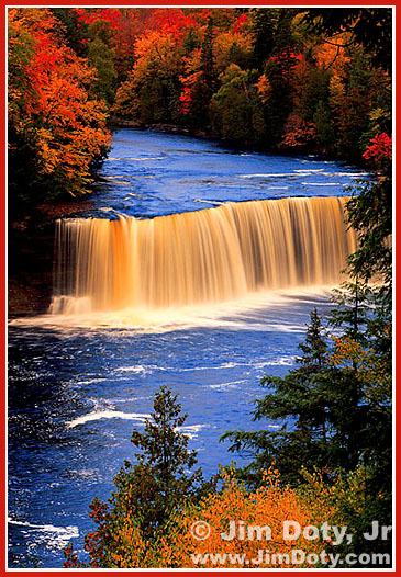 Tahquamenon Falls. Photo copyright Jim Doty Jr