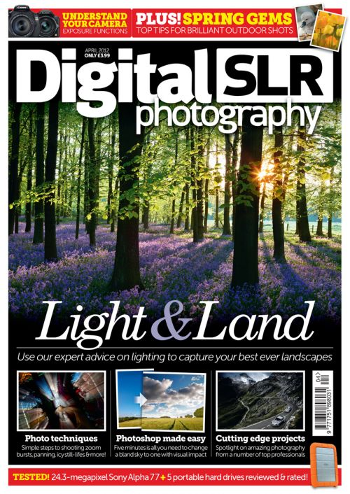 Digital SLR Photography, April 2012 cover