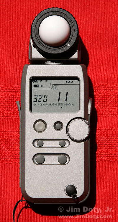Digital Incident Light Meter, Sekonic L-358