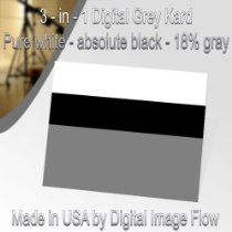 Gray, White, and Black Cards