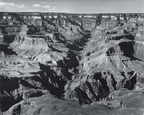 Ansel Adams, Grand Canyon. Print available for purchase at the Ansel Adams Gallery.