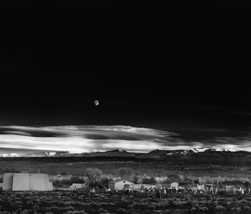 "Ansel Adams, ""Moonrise, Hernandez, New Mexico"""