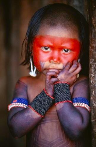 Kayapo Girl. Photo © Art Wolfe