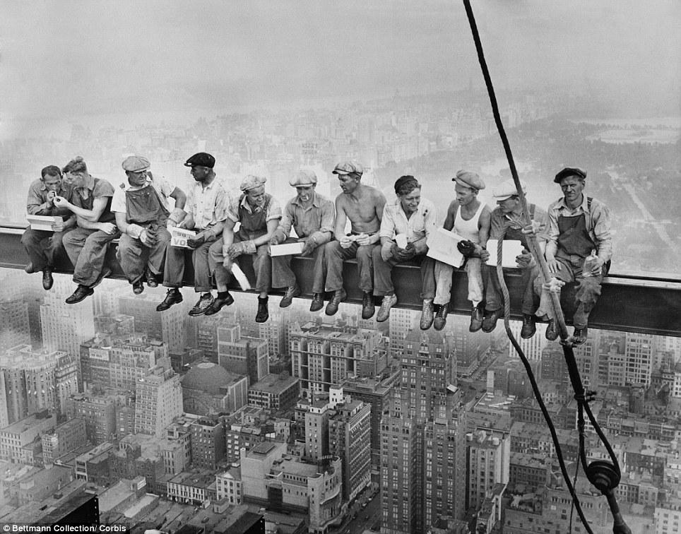 Rockefeller Center, 1932.