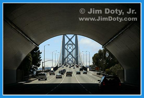 Bay Area Bridge, photo copyright Jim doty Jr