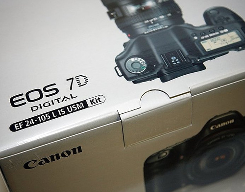 new Canon 7D